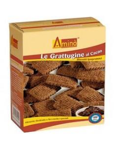 Aminò Biscotti Ipoproteici Grattuggine al Cacao CACAO - Confezione da 200 g