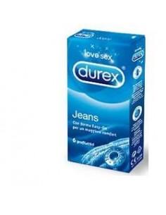 Durex Jeans - Profilattici Easy-on Confezione da 6 preservativi