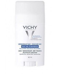 Vichy Deodorante Stick 24H Effetto Asciutto – Senza Sali d'alluminio Stick da 40 ml
