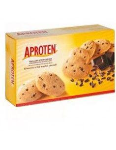 Aproten Frollini Ipoproteici con Gocce di Cioccolato Confezione da 180 gr