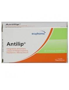 Antilip ® - Integratore per Controllo Colesterolo e Trigliceridi Confezione da 20 cpr da 620 mg