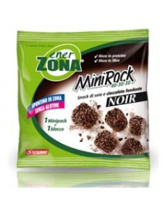 Enervit MiniRock CIOCCOLATO FONDENTE NOIR - 1 minipack monoporzione  da 24 g