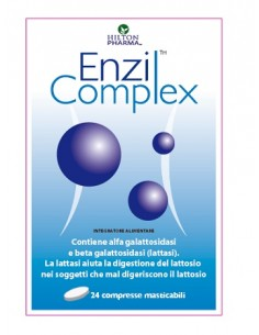 Hilton Pharma Enzil Complex 24 compresse masticabili da 200 mg