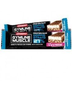 Enervit Gymline GUSTO COCCO-CIOK - 1 Barretta Proteica da 45g ricoperta di cioccolato al latte