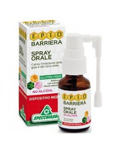 Spray Mal di Gola con Aloe Vera - Specchiasol Flacone spray da 15 ml