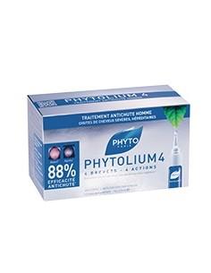 Phytolium 4 - Anticaduta Uomo con Serenoa 12 Fiale da 3,5 ml