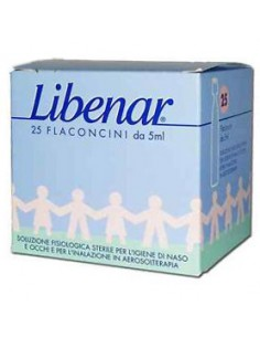 Libenar - Flaconcini isotonici 25 flaconcini da 5ml