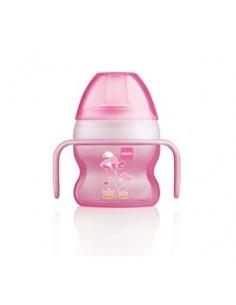 MAM Starter Cup - Prima tazza 1 tazza con beccuccio morbido capacità: 150 ml (4+ mesi)