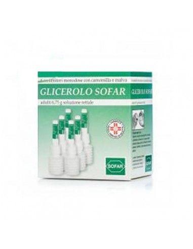 Glicerolo Sofar 6 Contenitori 6,75g