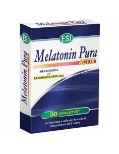Melatonin Pura Activ - Melatonina e Valeriana Confezione da 30 ovalette