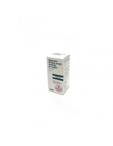 Niogermox 80 mg/g Smalto Per Unghie 3,3ml