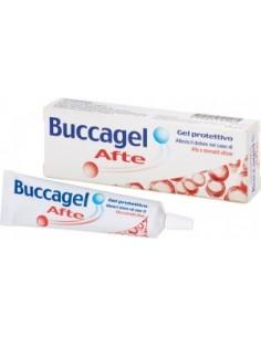 Buccagel Afte - Gel protettivo Afte e Stomatiti Tubetto da 15 ml