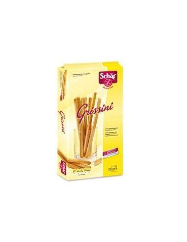 Snack senza glutine Schär Grissini - Confezione da 150 g (3x50 g)