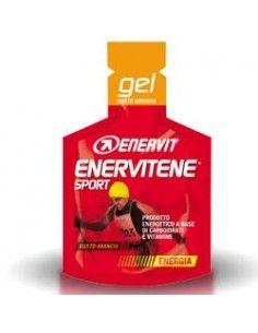 Enervitene Sport Gel - Gel Energetico Carboidrati Vitamine GUSTO ARANCIA - 1 Minipack da 25 ml
