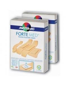 Master Aid Forte Med - Cerotti Resistenti Elevata Protezione Confezione da 40 pezzi 5 formati