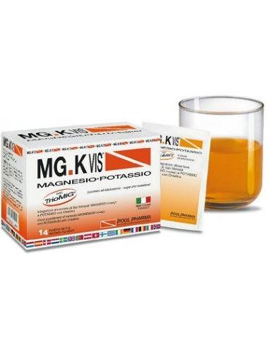 MG.K VIS Magnesio - Potassio 14 Bustine da 4 grammi