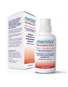 Meridol Collutorio Trattamento Intensivo Clorexidina 0,2% Flacone da 300 ml