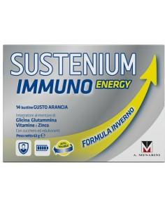 Sustenium Immuno Energy - Integratore Immunostimolante 14 bustine da 4,5 g