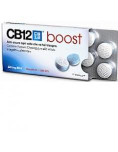 CB 12 BOOST chewing-gum Confezione da 10 chewing gum