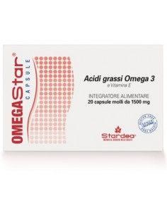 OMEGASTAR capsule 20 capsule molli da 1500 mg cad.