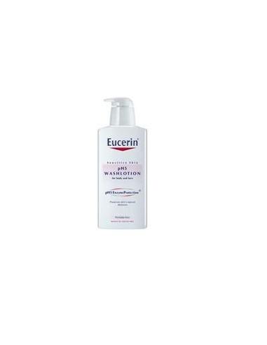 Eucerin pH 5 Detergente Fluido - Pelle Sensibile Flacone da 400 ml con dosatore
