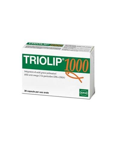 Triolip ® Omega-3 EPA e DHA Confezione da 30 capsule da 1000 mg