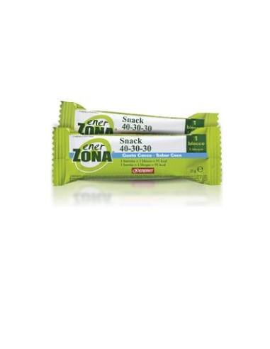 Barrette Dieta a Zona - Enerzona 40-30-30 GUSTO COCCO - Barretta dieta a zona da 27g