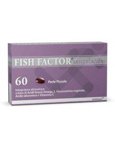 FISH FACTOR Articolazioni Confezione da 60 perle