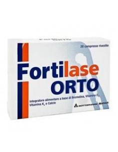 Fortilase Orto 20 compresse rivestite in blister
