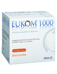 Eukom 1000 - Integratore per gli Occhi e la VIsta 60 buste