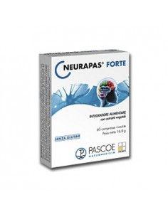 Neurapas Forte – Integratore con Iperico, Passiflora e Valeriana per L'Umore Confezione da 60 compresse rivestite