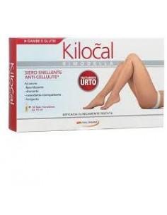 Kilocal - Rimodella Gambe e Glutei - Fango Anticellulite 10 fiale monodose da 10 ml