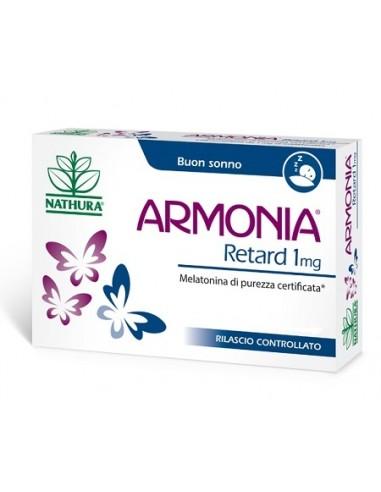 Armonia Retard - Melatonina Confezione da 120 compresse da 1 mg di melatonina a rilascio controllato