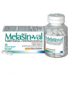 "Melasin•Val - Melatonina + Valeriana Confezione da 30 compresse deglutibili ""fast/slow"""