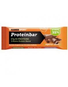 Named Sport Proteinbar - Barretta Proteica 35% 1 barretta da 50 g, Gusto Superior Choco