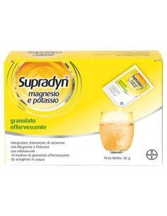 Supradyn ® Magnesio e Potassio Confezione da 14 bustine di granulato effervescente
