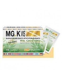 MG.K VIS Tè Verde Confezione da 14 bustine da 3,9 g