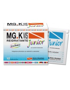 MG.K Vis Reidratante Junior 10 bustine da 9,5 g