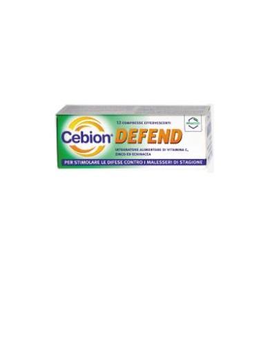 Cebion Defend 12 compresse effervescenti da 4 g Aroma Arancia
