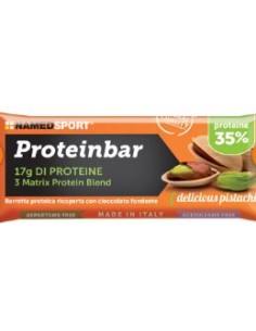 Named Sport Proteinbar - Barretta Proteica 35% 1 barretta da 50 g, Gusto Delicious Pistachio