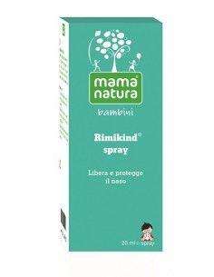 Mama Natura Rimikind Spray Bambini Spray 20 ml + beccuccio ergonomico