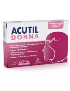 Acutil Donna Compresse - Mente e Vitalità 20 compresse