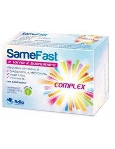 SameFast Complex 20 compresse orosolubili divisibili gusto lime da 2,4 g