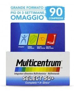 Multicentrum select 50+ Confezione da 90 compresse