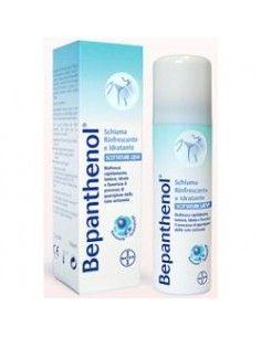 Bepanthenol Schiuma Spray - Scottature solari e lievi ustioni Flacone spray da 75 ml