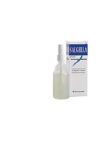 Saugella Lavanda vaginale pH 4.5 Confezione da 4 flaconi da 140 ml completi di cannula vaginale