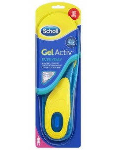Scholl Solette Gel Activ Everyday - Uso quotidiano 2 solette DONNA – numero: 35-40,5