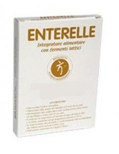 Enterelle Bromatech Integratore con Fermenti Lattici Blister da 24 capsule deglutibili da 0,377 g ciascuna