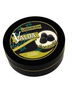 Valda - Benessere per la Gola confezione da 50 g, pastiglie gommose alla liquirizia