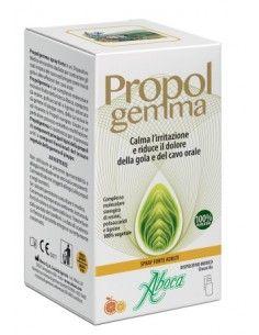 Propolgemma Spray Forte Adulti – Calma Irritazione di Gola e Cavo Orale Flacone in vetro da 30 ml con nebulizzatore spray